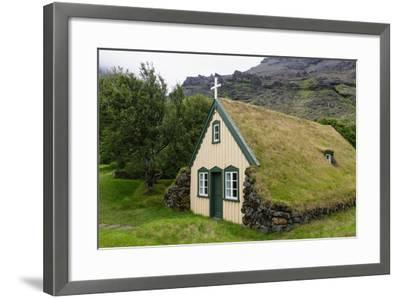 Turf Church in Court-Catharina Lux-Framed Photographic Print