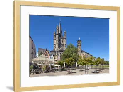 Europe, Germany, North Rhine-Westphalia, Cologne, Old Town-Chris Seba-Framed Photographic Print