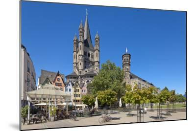 Europe, Germany, North Rhine-Westphalia, Cologne, Old Town-Chris Seba-Mounted Photographic Print