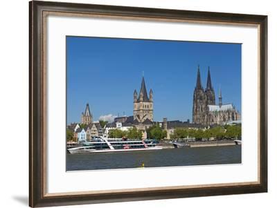 Europe, Germany, North Rhine-Westphalia, Cologne, Old Town-Chris Seba-Framed Photographic Print