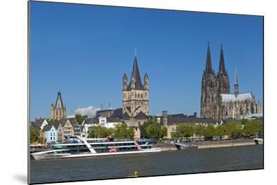 Europe, Germany, North Rhine-Westphalia, Cologne, Old Town-Chris Seba-Mounted Photographic Print