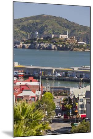 Alcatraz, San Francisco, California, Usa-Rainer Mirau-Mounted Photographic Print