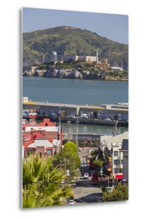 Alcatraz, San Francisco, California, Usa-Rainer Mirau-Metal Print