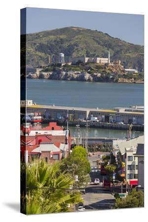 Alcatraz, San Francisco, California, Usa-Rainer Mirau-Stretched Canvas Print