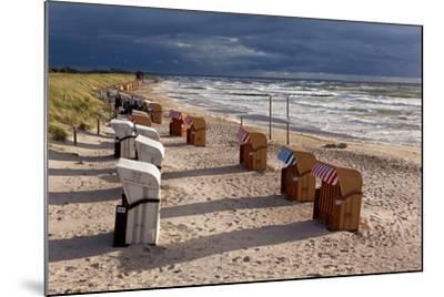 Baltic Sea Spa Wustrow, Beach, Beach Chairs-Catharina Lux-Mounted Photographic Print
