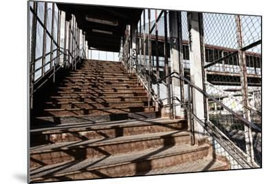 Berlin-Marzahn, City Railroad Station, Stairs-Catharina Lux-Mounted Photographic Print
