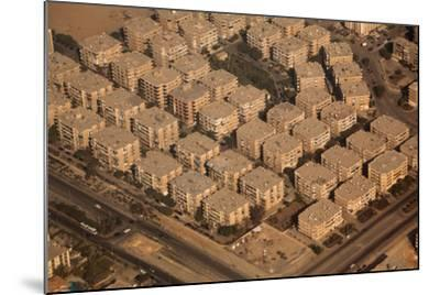 Egypt, Cairo, Aerial Shot, Apartment Blocks-Catharina Lux-Mounted Photographic Print