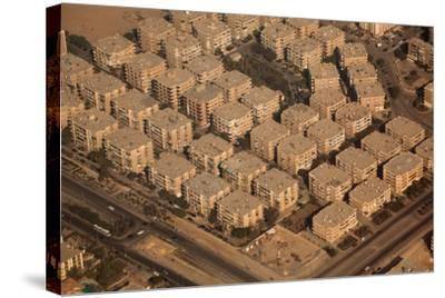 Egypt, Cairo, Aerial Shot, Apartment Blocks-Catharina Lux-Stretched Canvas Print