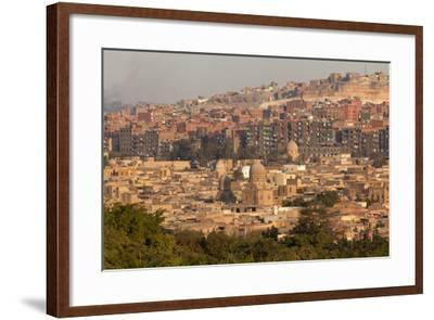Egypt, Cairo, Moqattam and Necropolis-Catharina Lux-Framed Photographic Print
