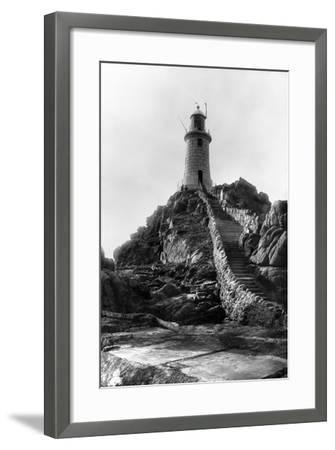La Corbiere Lighthouse-B. M. Chambers-Framed Photographic Print