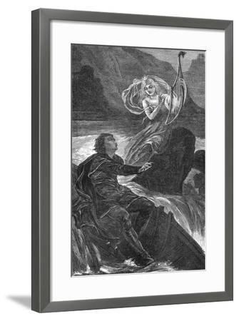 Lorelei--Framed Giclee Print