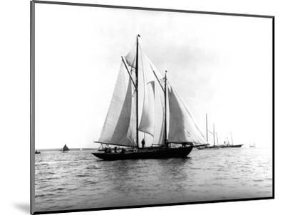 Trade Wind in the Bermuda Race-Edwin Levick-Mounted Photographic Print
