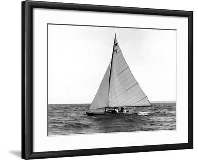 Star Class Boat Fejo #77-Edwin Levick-Framed Photographic Print