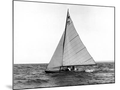 Star Class Boat Fejo #77-Edwin Levick-Mounted Photographic Print