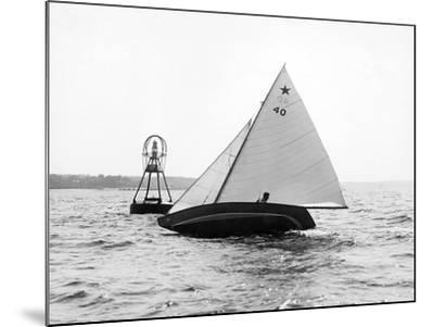 Star Class Race: Southwind Rounding the Mark-Edwin Levick-Mounted Photographic Print