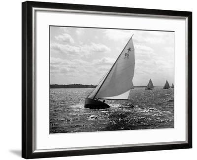 Tara - Star Class Race of 1922-Edwin Levick-Framed Photographic Print