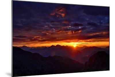 Dolomites at Sunrise-Stefan Sassenrath-Mounted Photographic Print