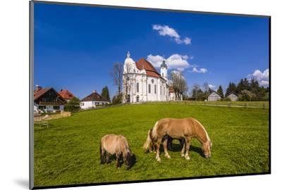 Germany, Bavaria, Upper Bavaria, Pfaffenwinkel, Steingaden-Udo Siebig-Mounted Photographic Print