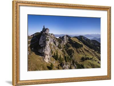 Germany, Bavaria, Upper Bavaria, Mangfall (Mountain Range), Wendelstein Region-Udo Siebig-Framed Photographic Print