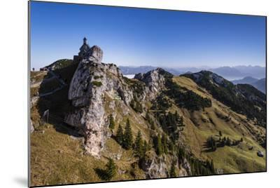Germany, Bavaria, Upper Bavaria, Mangfall (Mountain Range), Wendelstein Region-Udo Siebig-Mounted Photographic Print