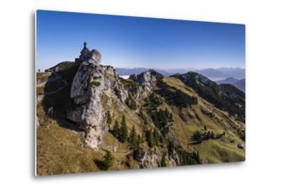 Germany, Bavaria, Upper Bavaria, Mangfall (Mountain Range), Wendelstein Region-Udo Siebig-Metal Print