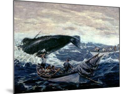 Sperm Whaling Fast Boat Ca. 1900-1930-Clifford Warren Ashley-Mounted Giclee Print