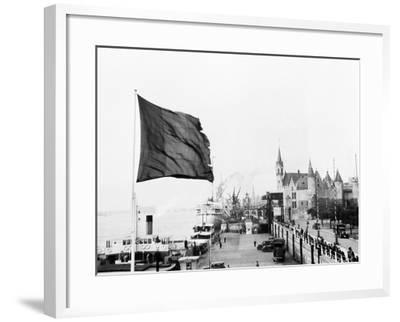 Antwerp, Belgium, 1930-Edward Hungerford-Framed Photographic Print