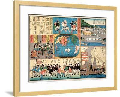 Picture of the American Passenger Ship--Framed Giclee Print