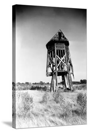 Windmill at Honga, Maryland 1935-A. Aubrey Bodine-Stretched Canvas Print