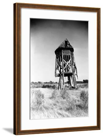 Windmill at Honga, Maryland 1935-A. Aubrey Bodine-Framed Photographic Print