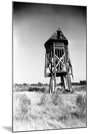 Windmill at Honga, Maryland 1935-A. Aubrey Bodine-Mounted Photographic Print