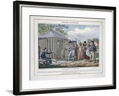 Performing Quarantine-Peter Pasquin-Framed Giclee Print