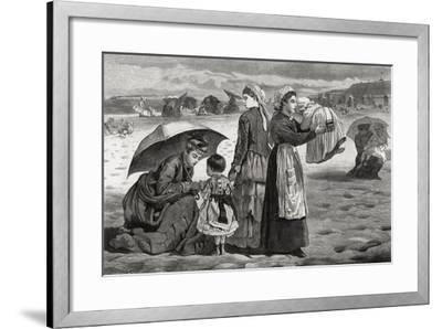 Home from the Hampton Races-Anness-Framed Giclee Print