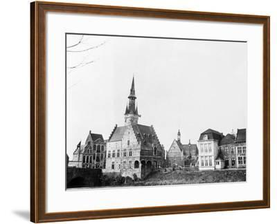 Antwerp, Belgium, 1930-Edward Hungerford-Framed Photographic Print