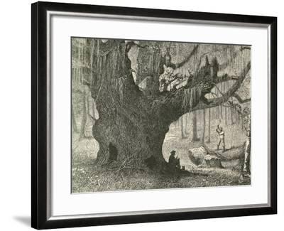 The Live Oak-Henry Linton-Framed Giclee Print