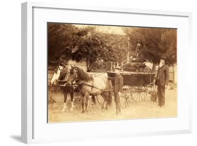 Monitor Horse Bubby--Framed Photographic Print