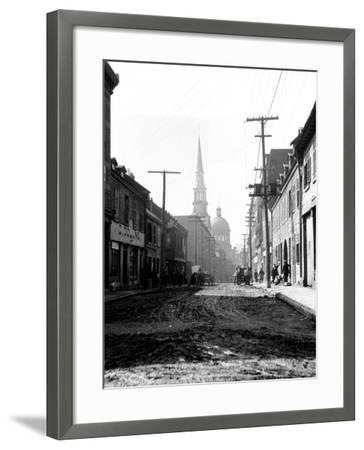 Montreal, Canada, 1912-Edward Hungerford-Framed Photographic Print