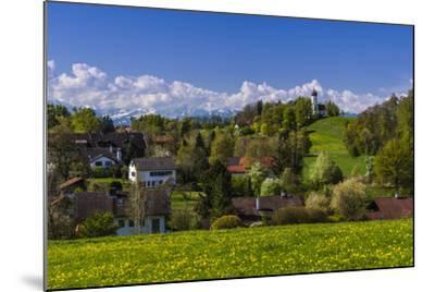 Germany, Bavaria, Upper Bavaria, T?lzer Land (Area), Holzhausen-Udo Siebig-Mounted Photographic Print