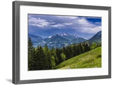Germany, Bavaria, Upper Bavaria, Berchtesgadener Land (District), Sch?nau at K?nigssee-Udo Siebig-Framed Photographic Print