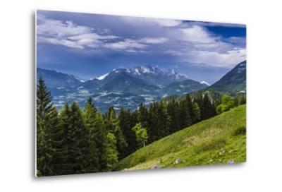 Germany, Bavaria, Upper Bavaria, Berchtesgadener Land (District), Sch?nau at K?nigssee-Udo Siebig-Metal Print
