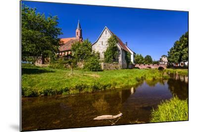Germany, Bavaria, Lower Franconia, 'Fr?nkisches Saaletal' (Saale Valley), Gr?fendorf-Udo Siebig-Mounted Photographic Print