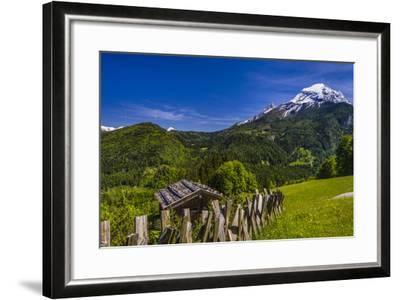 Germany, Bavaria, Upper Bavaria, Berchtesgadener Land (District), Ramsau Near Berchtesgaden-Udo Siebig-Framed Photographic Print