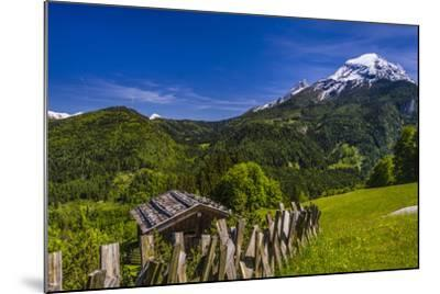 Germany, Bavaria, Upper Bavaria, Berchtesgadener Land (District), Ramsau Near Berchtesgaden-Udo Siebig-Mounted Photographic Print