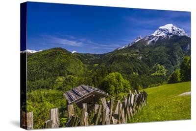 Germany, Bavaria, Upper Bavaria, Berchtesgadener Land (District), Ramsau Near Berchtesgaden-Udo Siebig-Stretched Canvas Print
