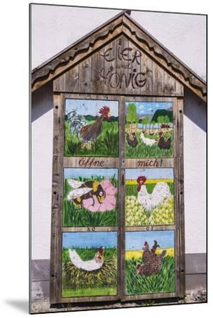 Germany, Bavaria, Upper Bavaria, T?lzer Land, Schlehdorf Am Kochelsee, Sales Cupboard-Udo Siebig-Mounted Photographic Print