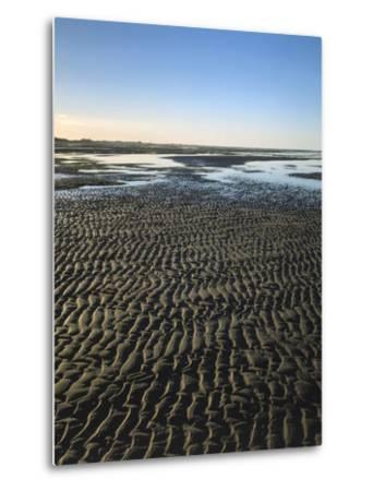 Sea, Beach, Low Tide-Thonig-Metal Print