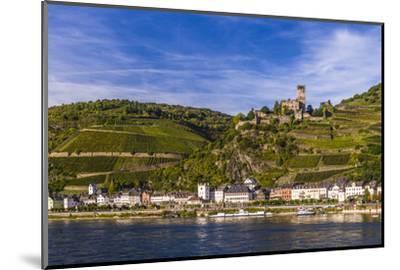 Germany, Rhineland-Palatinate, Upper Middle Rhine Valley, Kaub, Rhine Valley-Udo Siebig-Mounted Photographic Print