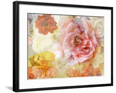 Composing with Blossoms and Floral Ornaments-Alaya Gadeh-Framed Photographic Print