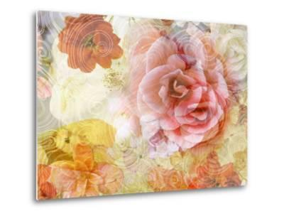 Composing with Blossoms and Floral Ornaments-Alaya Gadeh-Metal Print