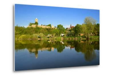 Germany, Saxony-Anhalt, Burgenlandkreis, Castle and Village Sch?nburg Above the Saale-Andreas Vitting-Metal Print
